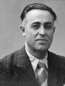 El mestre Joaquim Gadea Fernández, que arribà a Sant Carles el 1919.