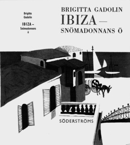 Portada d´un llibre ambientat a Eivissa de l´escriptora finlandesa Brigitta Gadolin.
