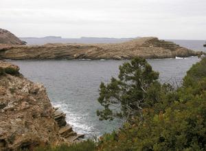 Una altra vista de sa Galera, a la costa de Sant Antoni de Portmany. Foto: Chus Adamuz.