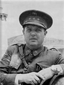 El comandant militar d´Eivissa en diferents etapes entre 1932 i 1936, Rafael García Ledesma. Foto: cortesia de la família García-Sorà.