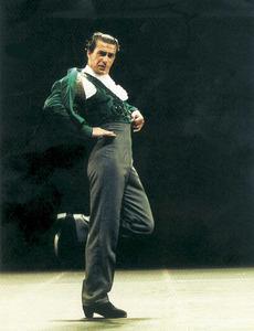 El ballarí Antonio García Santillana (Antonio Márquez), durant una actuació. Foto: Paco Ruíz.