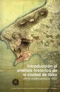 Portada de l´obra <em>Introducci&oacute;n al an&aacute;lisis hist&oacute;rico de la ciutat de Ibiza</em>, publicada per Rafael Garc&iacute;a Pascuet i F&eacute;lix Julbe.