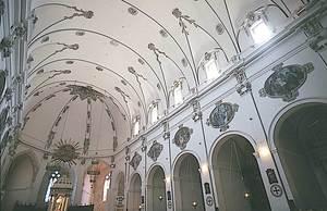El bisbe Felipe González Abarca aconseguí diverses almoines per acabar l´obra de la Catedral, entre moltes altres realitzacions. Foto: Vicent Marí.