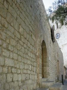 Antiga capella del Salvador, a la plaça de la Catedral, on tenia la seu, abans de traslladar-se a l´església de Sant Elm, el Gremi de lagent de la mar. Foto: Felip Cirer Costa.