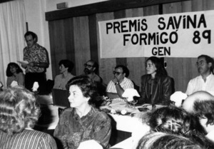 Lliurament dels premis Savina i Formigó, del Grup d´Estudis de la Naturalesa. Foto: Bartolo Tur.