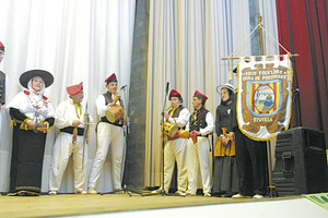 El Grup folklòric Brisa de Portmany. Foto: Joan Antoni Riera.
