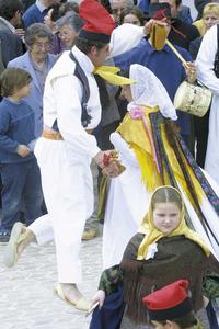 El Grup folklòric Sant Josep de sa Talaia. Foto: Vicent Marí.