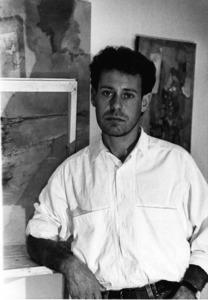 El pintor Carles Guasch Guasch. Foto: Arxiu de Sonya Torres Planells.