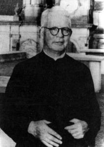 El pare Antoni Guasch i Bufí l´any 1952, a l´Argentina.