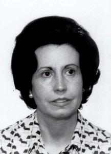 La bibliotecaria Maria Dolors Guerau de Arellano i Tur.