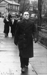 Segona Guerra Mundial. Joaquim Gadea Fernández, antic director de sa Graduada d´Eivissa, que participà en la Resistència francesa. Foto: arxiu de Joaquim Gadea Taverna.