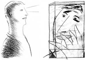 Dues obres del pintor eivissenc resident a València Josep Manuel Guillén Ramon.
