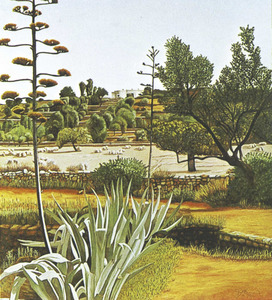 Una obra del pintor alemany Bert Heinen. Foto: arxiu de Marià Planells Cardona.