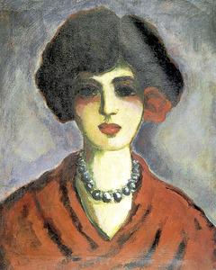 <em>Madame</em>. Oli sobre tela d´Elmyr de Hory, 65 x 54 cm.