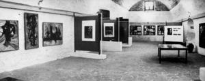 Exposició en el Museu d´Art Contemporani de Frank el Punto, amb obra gràfica del taller Ibograf.