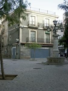 La Il·lustració. A la plaça de sa Font arribava l´aigua procedent de Sant Rafel. Foto: Josep Cardona Riera.