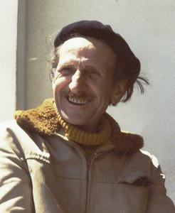 El naturalista britànic Frank Jackson, que a partir de 1960 va viure a Formentera. Foto Pins.
