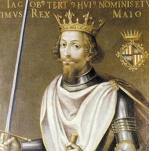 El rei Jaume III de Mallorca.