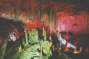 La cova d´en Jeroni, a Sant Ferran de ses Roques. Foto Pins.