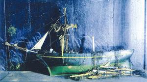 Un exvot conservat a l´esgl&eacute;sia de Jes&uacute;s, lloc de molta devoci&oacute; dels mariners eivissencs. Foto: extret de <em>Set segles fa</em> / Toni Pomar.