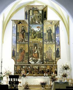 El retaule de la Mare de Déu de Jesús. Foto: Toni Pomar.