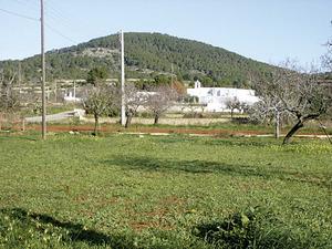 El puig d´en Joan Andreu, al poble de Santa Agnès de Corona. Foto: Felip Cirer Costa.