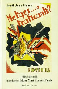 Portada de l´edició facsímil de <em>Metges... o traficants?</em> de Jordi Joan Riquer, editada el 1999.