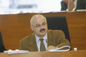 El polític Josep Juan Cardona. Foto: Vicent Marí.