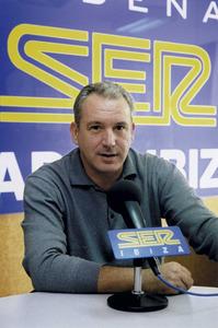 José Ignacio Lahuerta Torres, director de Radio Ibiza, de la Cadena SER. Foto: Francesc Lluy Torres.