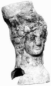 Pebeter púnic procedent d´Eivissa, custodiat al museu del santuari de la Mare de Déu de Lluc.