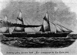El primer iot de nom <em>Nixe</em> que va tenir Lluís Salvador d´Àustria. Va perillar el 1893.