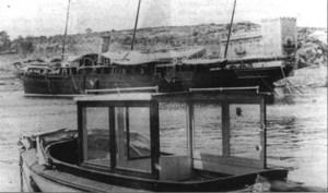 El segon <em>Nixe</em> de Llu&iacute;s Salvador d´&Agrave;ustria amarrat a Portop&iacute;. Foto: Arxiu Municipal de Palma
