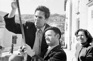 L´etnomusicòleg Allan Lomax, que realitzà diverses gravacions de música de les Pitiüses el 1952. Allan Lomax Arxive.