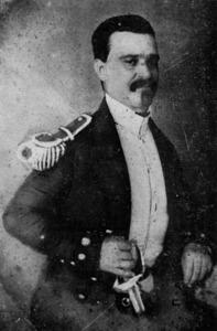 El tinent de navili Isidoro Macabich Pavía, avi de l´historiador del mateix nom. Extret d´<em>Apuntes para la historia marítima de Ibiza.</em>