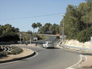 La barda d´en Maians, a la carretera de Sant Miquel. Foto: Felip Cirer Costa.