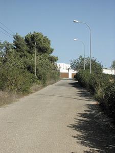 Accés a la hisenda de can Mala Costa, a Santa Gertrudis de Fruitera. Foto: Felilp Cirer Costa.