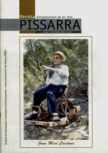 Portada de la revista <em>Pissarra</em> dedicada també a l´historiador Joan Marí Cardona.