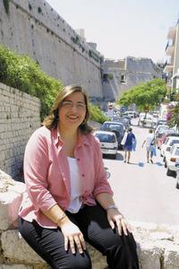 La política Virtuts Marí Ferrer. Foto: Joan Antoni Riera.