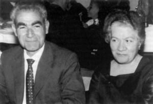 """L´alcalde de Sant Josep de sa Talaia i empresari Joan Marí Marí """"Botja"""", acompanyat de la seua esposa. Extret de <em>Mis memorias</em>."""