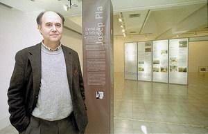 Isidor Marí Mayans, membre de la Secció Filològica de l´Institut d´Estudis Catalans. Foto: Moisés Copa.