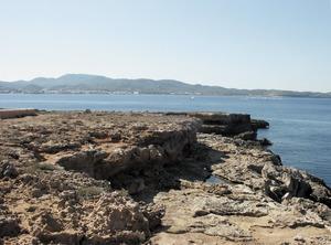La punta d´en Marí des de ses Vidasses (cala Gració). Foto: Felip Cirer Costa.