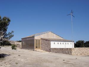El centre d´interpretació del virot, construït el 2003 en un dels annexos de l´esmentat casament. Foto: Agustí Yern Ribas / Marià Castelló Martínez.