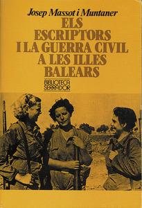 Portada d´un dels nombrosos llibres que Josep Massot i Muntaner ha dedicat a estudiar la Guerra Civil Espanyola.