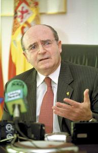 Abel Matutes Juan, comissari europeu entre 1985 i 1994 i ministre d´Afers Estrangers entre 1996 i 2000. Foto: Vicent Marí.