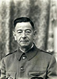 Salvador Mena Vivern, governador militar d´Eivissa i fill adoptiu de la ciutat.