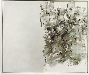 Una obra d´Eduard Micus, de 1992, de 105 x 124 cm.