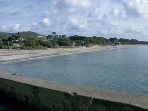 La platja de Migjorn, a les Salines d´Eivissa. Foto: Felip Cirer Costa.