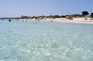 La platja de Migjorn, a Formentera. Foto Pins.