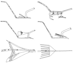 "Il·lustració de l´estudi de Cristina Miguélez Ramos ""La arquitectura tradicional en Ibiza: Introducción al estudio de la cultura material""."