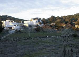 L´alqueria Mitjana, amb les cases de can Tonió i can Bofí. Foto: Felip Cirer Costa.